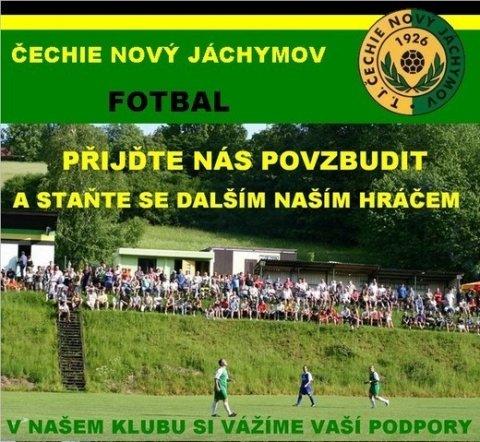 Divácký zájem o fotbal v Novém Jáchymově? SAMOZŘEJMOST!