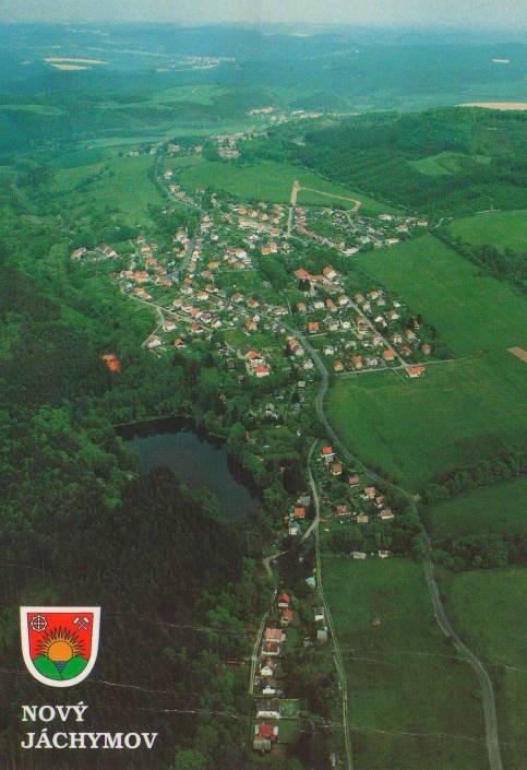 Nový Jáchymov - pohlednice - autor THC - Aeroklub KV - M. Pokladník