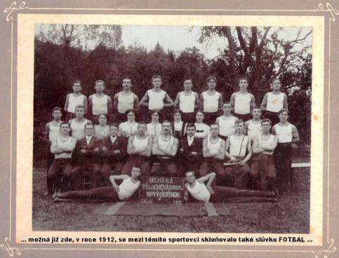 Tělocvičná jednota Nový Jáchymov - 1912