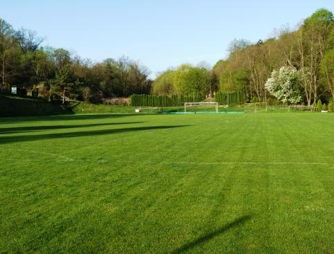 ... náš trávník = radost ze hry ...