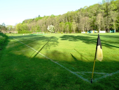 areál Čechie - nádherný fotbalový stánek