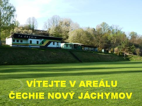 Vítejte ve fotbalovém areálu Čechie Nový Jáchymov