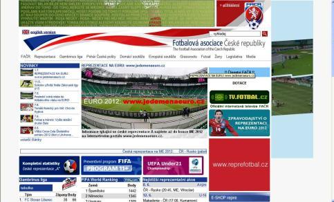 ... VSTUPTE na stránky Fotbalové asociace ČR ...