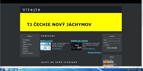 ... starší verze webových stránek č.1 ...